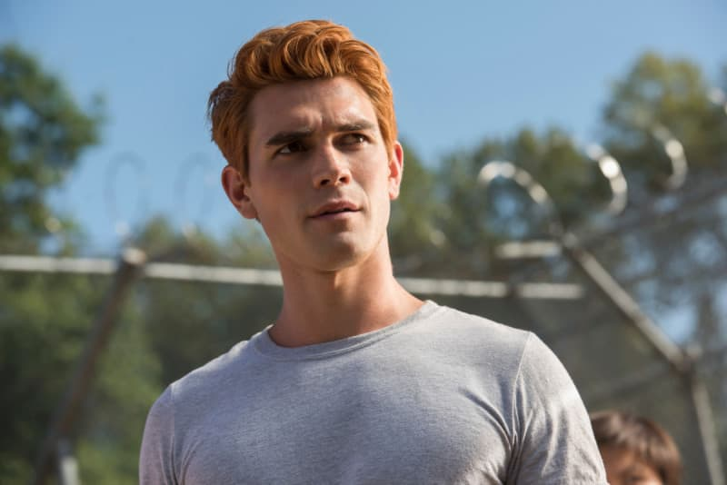 In the show, KJ's character, Archie Andrews, is a senior at Riverdale High, so it's safe to say he's 16 or 17 years old. IRL, the actor is 22 years old.